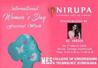 NIRUPA 2020 International Women's Day